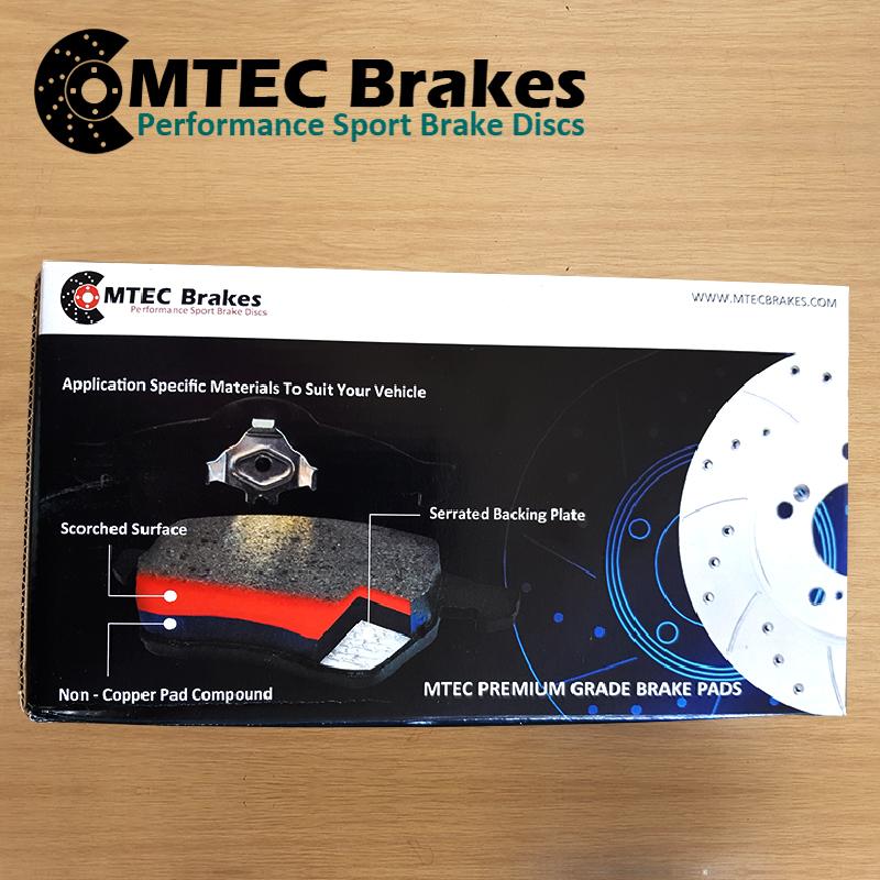 Ford-Focus-Estate-1-5-TDCi-ECOnetic-15-Front-Brake-Discs-amp-MTEC-Brake-Pads thumbnail 4
