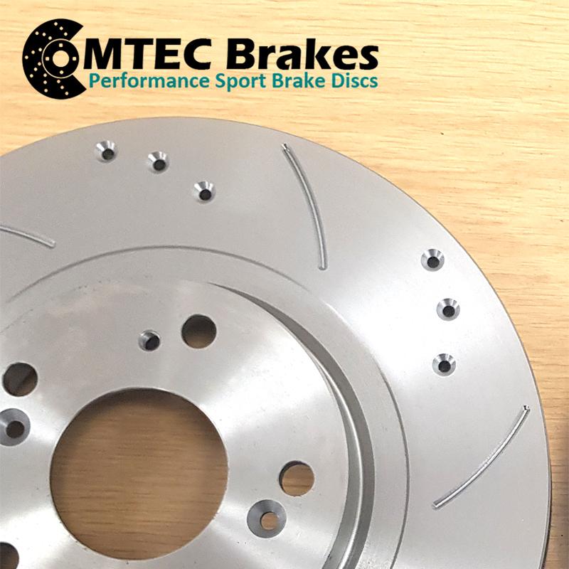 Ford-Focus-Estate-1-5-TDCi-ECOnetic-15-Front-Brake-Discs-amp-MTEC-Brake-Pads thumbnail 3