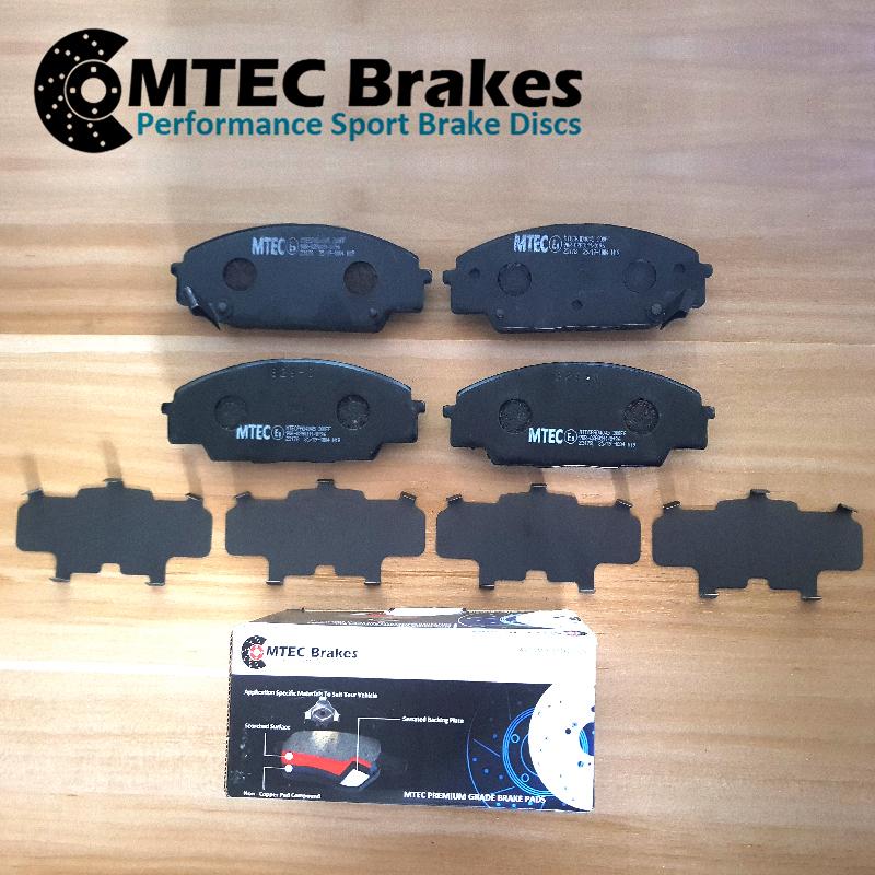 Ford-Focus-Estate-1-5-TDCi-ECOnetic-15-Front-Brake-Discs-amp-MTEC-Brake-Pads thumbnail 2