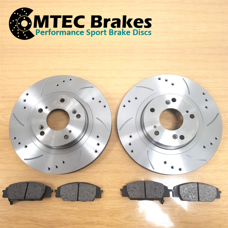 Ford-Focus-Estate-1-5-TDCi-ECOnetic-15-Front-Brake-Discs-amp-MTEC-Brake-Pads